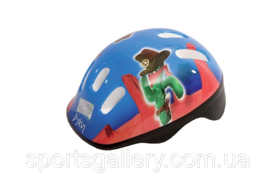 Шлем велосипедный для детей. Велошлем b-skin KIDY JOHNNY CACTUS