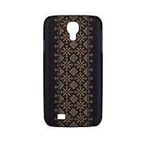 Накладка для Samsung I9500 Galaxy S4/ Qumo Quest 503 пластик Endorphone вышивка 35 глянец (604c-13)