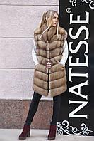 """Жилет из канадской куницы """"Жизель"""" canadian marten vest gilet, фото 1"""
