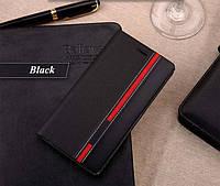 Чехол-Книжка для Lenovo S60 Infinity Elegant черный (Sticker)