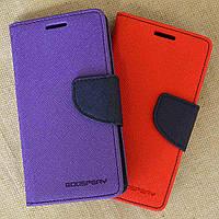 Чехол-Книжка для Samsung A700H Galaxy A7 Goospery фиолетовый