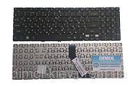 Оригинальная клавиатура для ноутбука Acer Aspire M3-581, M5-581, V5-531, V5-551, V5-571 series, rus, black