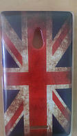 Накладка для LG D855 / LG D856 G3 силикон Флаг Великобритании