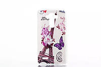 Накладка для LG G4 H818 силикон Infinity рисунок Эйфелева башня №2