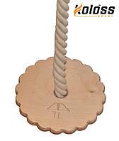 Детская деревянная качеля тарзанка
