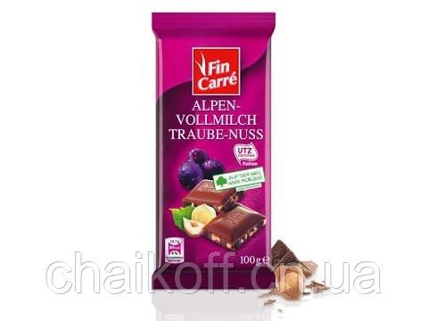 Шоколад Fin Carre Milk Chocolate Fruit and Nut 100 г (Германия)