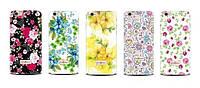 Накладка для LG Max X155 силикон Diamond Silicone CK Wedding Flowers -41834