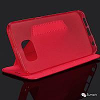 Чехол-Книжка для LG G4 H818 San che черный
