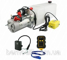 Гідростанція на дистанційному керуванні 12V Потужність 2,0 кВт, насос: 2,6cm3