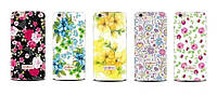 Накладка для Microsoft Lumia 550 (Nokia) силикон Diamond Silicone CK Wedding Flowers -41864