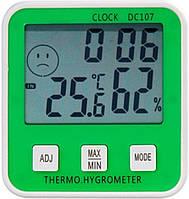 Цифровой термометр с гигрометром DC-107