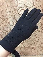 Трикотаж с кролик женские Сhanel перчатки/перчатки женские Эластичный(только ОПТ)
