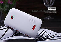 Накладка для Nokia 520 Lumia / Nokia 525 Lumia пластик Nillkin Matte белый (+ пленка)