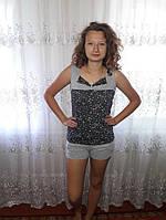Комплект женский с шортами для сна и дома