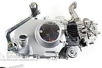 Двигатель Альфа 110 см3 механика нижний стартер