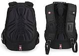 Тактический портфель SWISSGEAR. Мужские рюкзаки. Военные рюкзаки. Оригинальные рюкзаки., фото 3