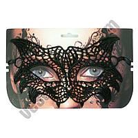Кружевная маска Секрет Кошки ( маска на хєллоуин )