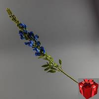 Искусственное травянистое растение львиный зев (фиолетовый).