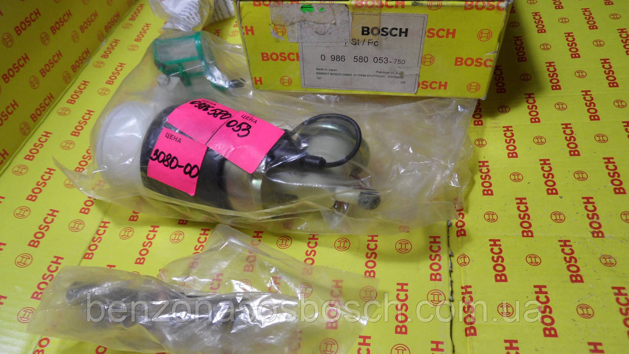 Бензонасос BOSCH, 0986580053, 0 986 580 053