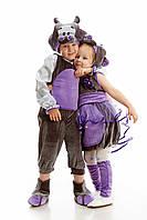 Детский костюм Бегемот, рост 110-120 см