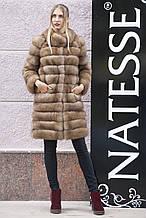 "Шуба кожушок жилет з канадської куниці ""Крістель"" canadian sable fur coat jacket and vest gilet"