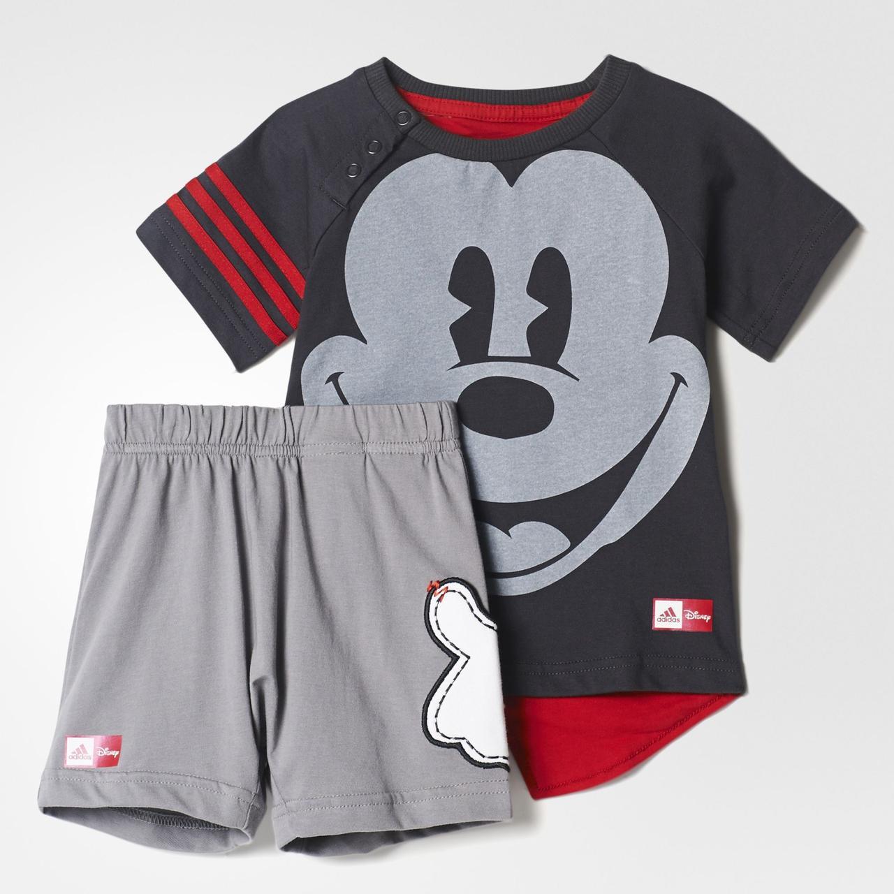 32908c07bb1 Комплект  футболка и шорты Adidas Disney Mickey Mouse - Popsport.com.ua ‒