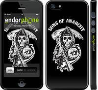 Накладка для Samsung G850F Galaxy Alpha пластик Endorphone Sons of Anarchy v1 глянцевый (2510c-65-308)
