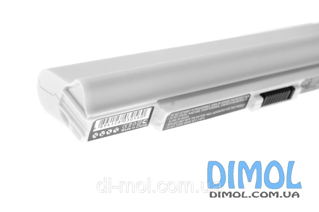 Аккумуляторная батарея Acer Aspire One 521 531 531h 751 751h 752 753 series white 5200mAh 11.1 v