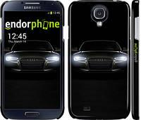 Накладка для Samsung I9500 Galaxy S4/ Qumo Quest 503 пластик Endorphone Audi матовая (1166m-13-308)