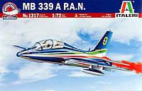 Учебно-тренировочный самолет MB-339