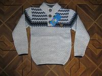 Детские вязаные свитера для мальчиков 4-9 лет Турция