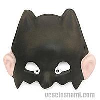 Маска виниловая детская Дьяволенок ( карнавальная маска )