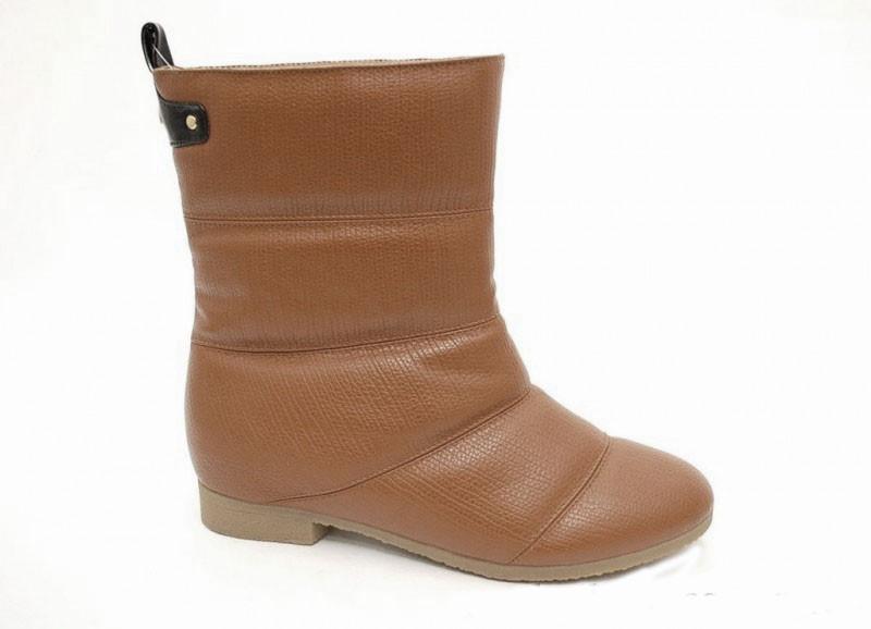 Женские ботинки дутые зимние 36, фото 1