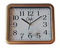 Копия Настенные часы Compass Quartz (светлый/темный коричневый)