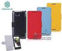 Чехол-Книжка для Samsung I9295 Galaxy S4 Active Nillkin Fresh Series красный -5040252
