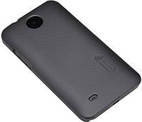 Накладка для Sony Xperia C4 Dual E5333 пластик Nillkin Matte черный (+пленка)