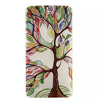 Накладка для Sony Xperia E4 Dual E2115 пластик 0,5mm Infinity Glamour цветное дерево (+ пленка)