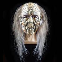 Маска латексная Ведьма с волосами ( маска на хєллоуин )