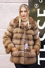 КУНИЦЯ шуби і жилети з куниці Marten fur coats jackets vests gilets
