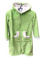 Детский теплый халат с капюшоном 1210/13
