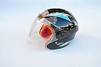 Шлем-полулицевой MOTOTECH детский черный