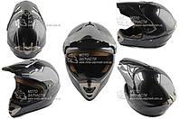 Шлем кроссовый SNAUZER mod:803 карбон