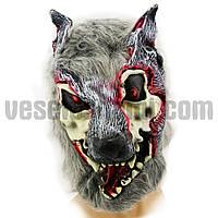 Карнавальная Маска латексная Оборотень ( маска на хєллоуин )