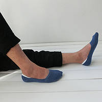 Подследники короткие носки следы мужские