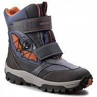 Ботинки зимние детские для мальчика GEOX - J Lt Himalaya B Оригинал! (31)