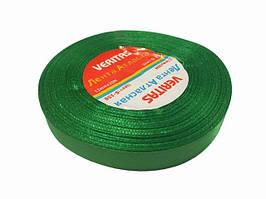 Лента атласная 12 мм зелень 150