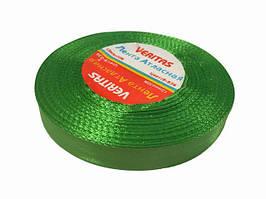 Лента атласная 12 мм зелень 536