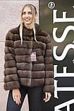 """Полушубок из соболя """"Каприз"""" sable jacket fur coat, фото 2"""