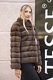 """Полушубок из соболя """"Каприз"""" sable jacket fur coat, фото 3"""