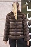 """Полушубок из соболя """"Каприз"""" sable jacket fur coat, фото 5"""